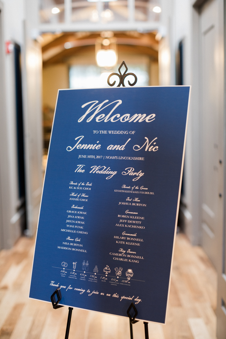 Sweetchic-Events_Noahs-Event_Beatles-themed-wedding_welcome-sign