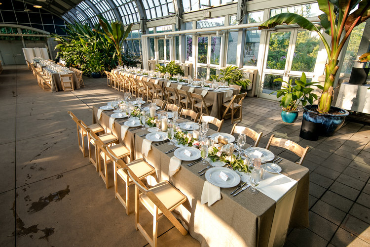 Garfield Park Conservatory Wedding.Chris Jennifer S Garfield Park Wedding Part 2 Sweetchic Events