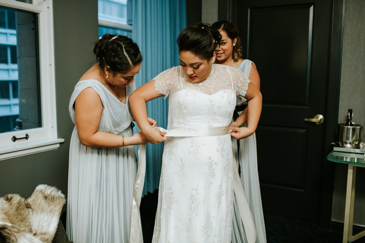 Sweetchic Events | Real Chicago Weddings | Zhou B Art Center
