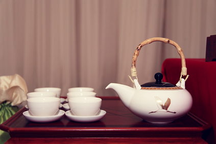 50.  Rookery Wedding. Kevin Le Photography. Sweetchic Events. Paebaek Ceremony. Tea pot and Tea Cups..jpg