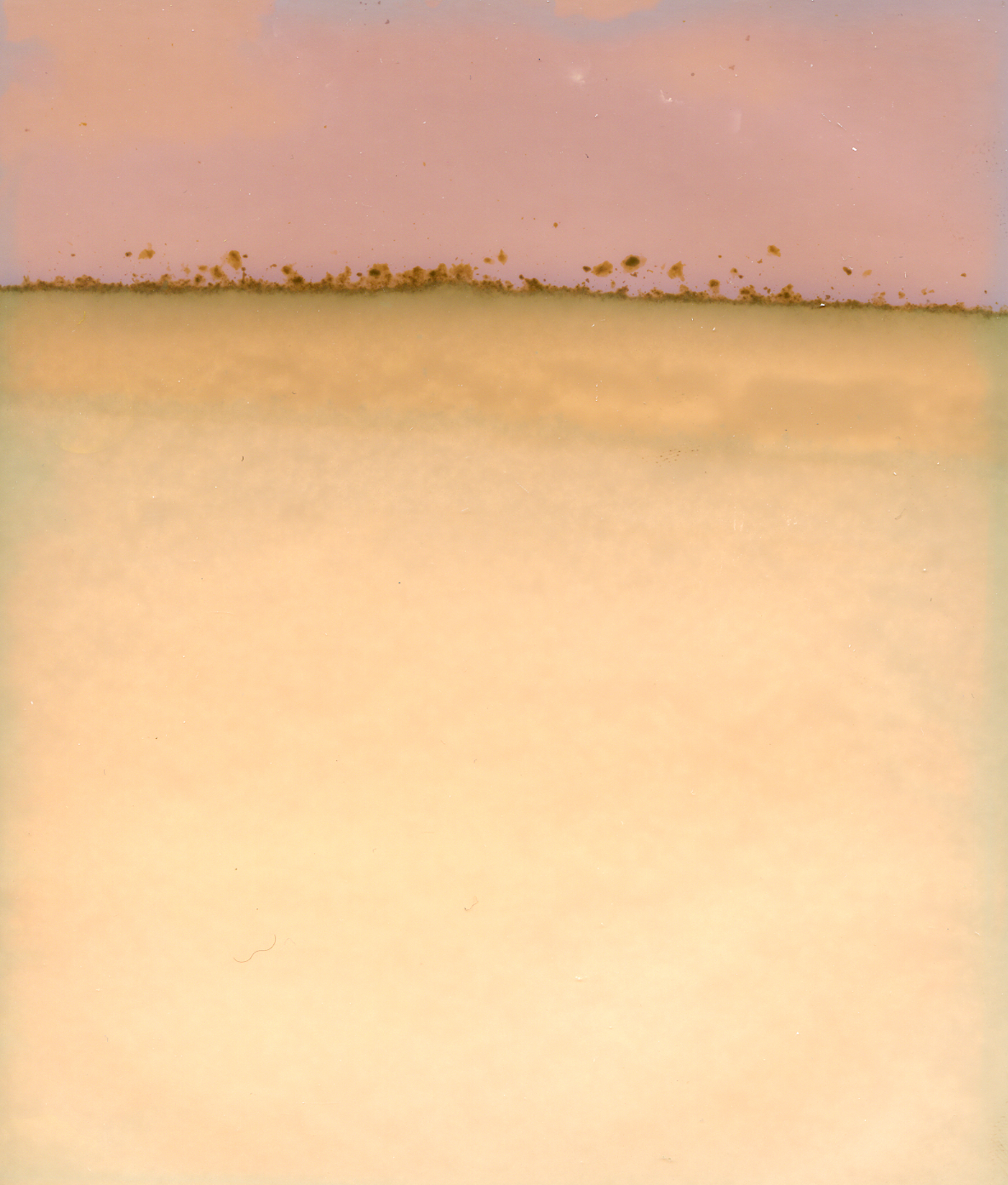 """Horizon and Storm/Drift Layers"" March 2018.  Sierra Crest (4x5 Lumen Print)"