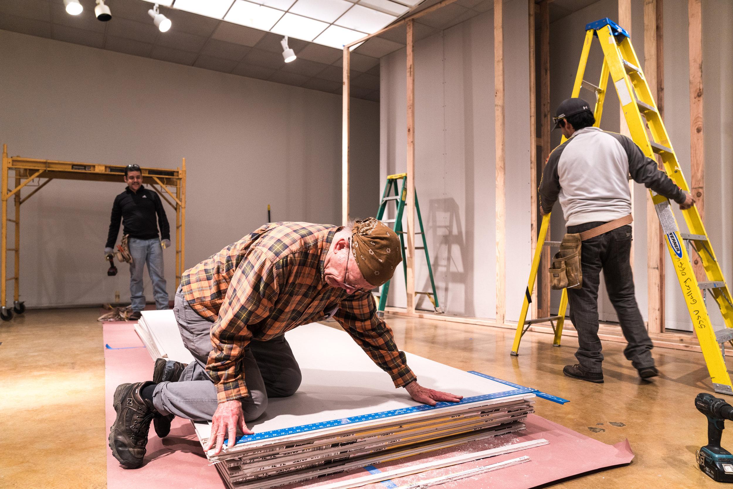 Bruce Nauman- REinstallation at Natalie Thompson Gallery