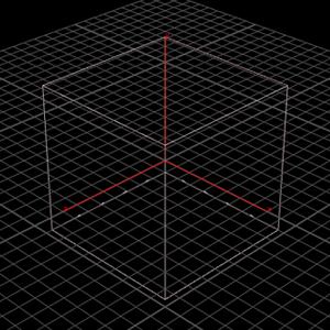 박스 형태의 Voxel Grid