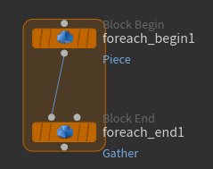 Block Begin 노드와 Block End 노드