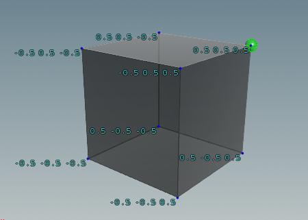 max bbox: 값이 가장 높은 초록점의 P값 (0.5,0.5,0.5)
