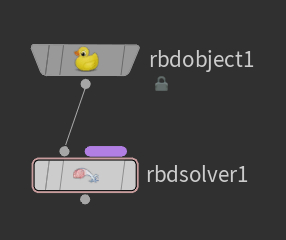 RBD Object, RBD Solver 노드