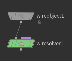 Wire Object, Wire Solver 노드