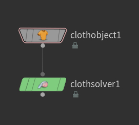 Cloth Object, Cloth Solver 노드