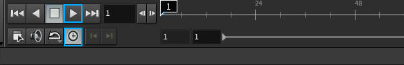 리얼타임이란 1초에 24프레임의 속도로 플레이 하는 것을 말한다.