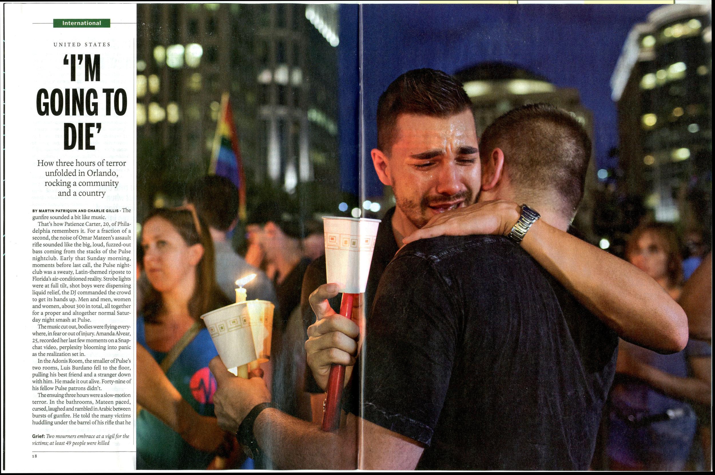 Pulse nightclub massacre for Maclean's Magazine