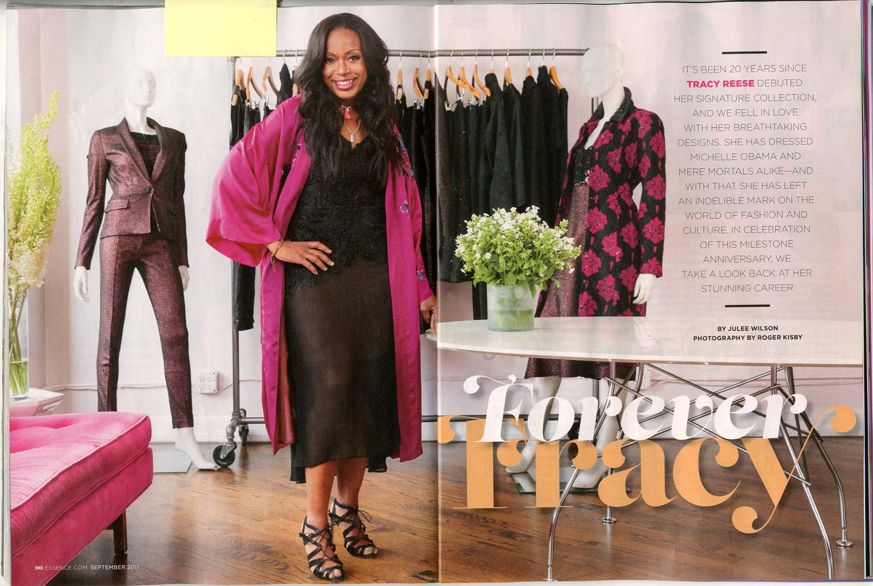 Tracy Reese for Essence Magazine