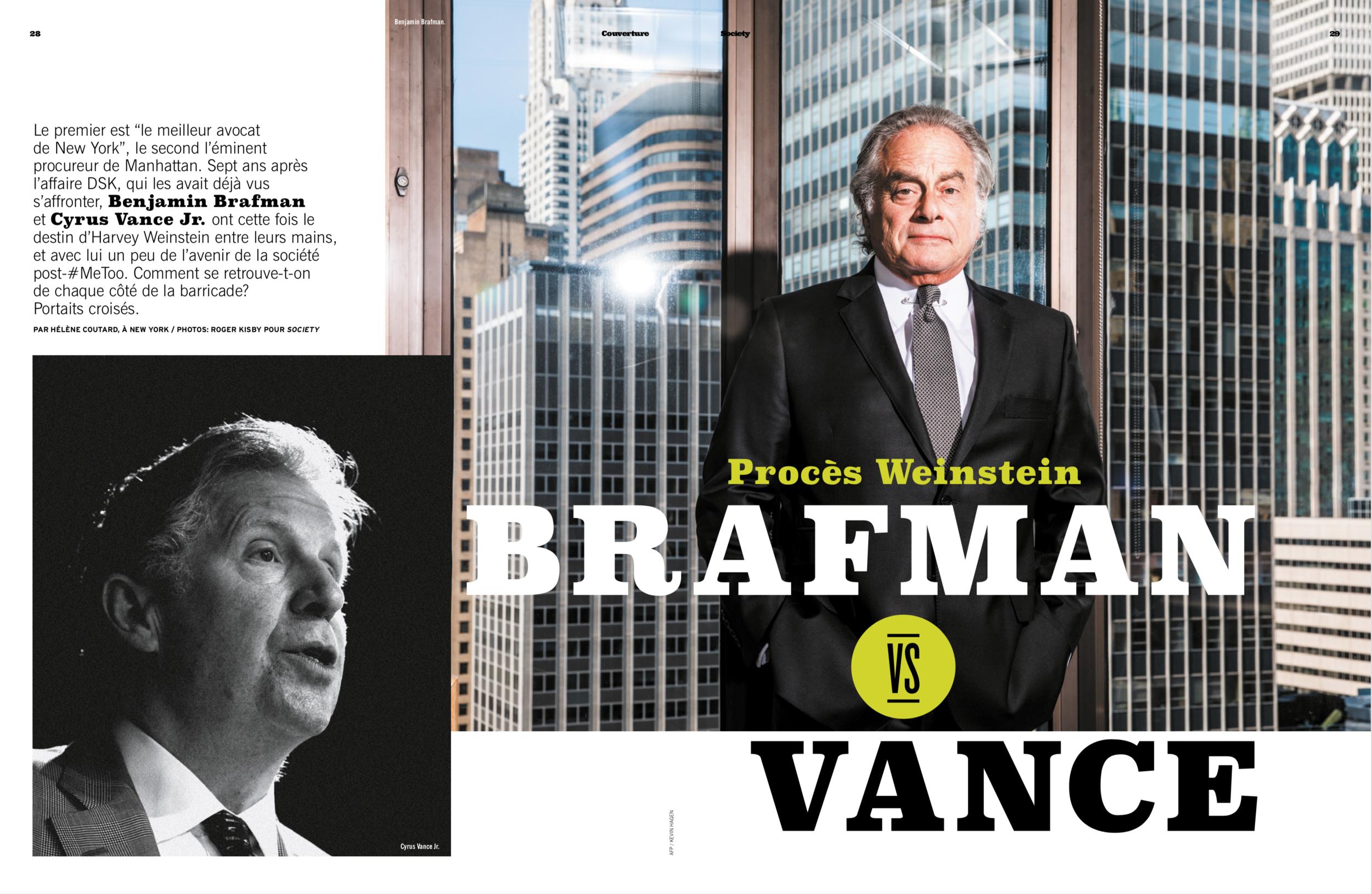 Benjamin Brafman for Society Magazine