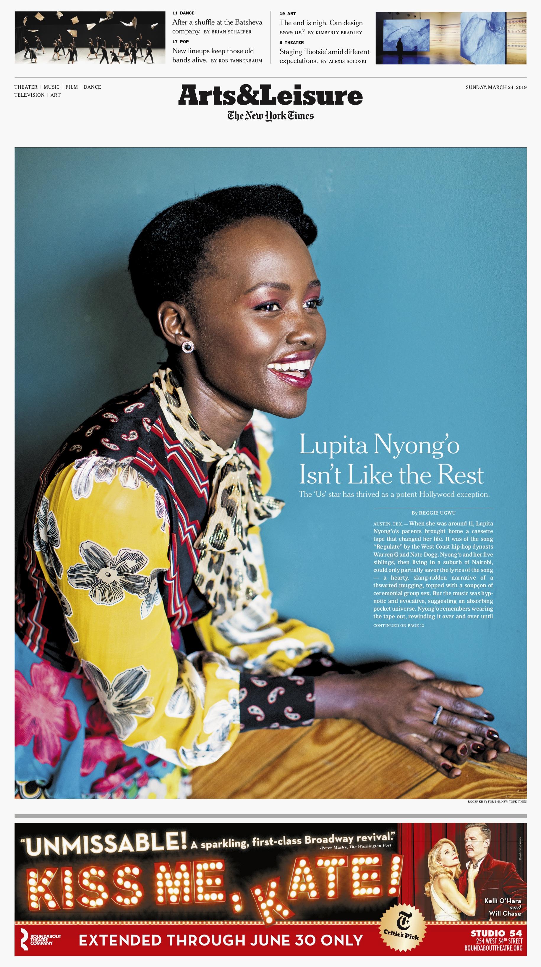 Lupita Nyong'o for New York Times