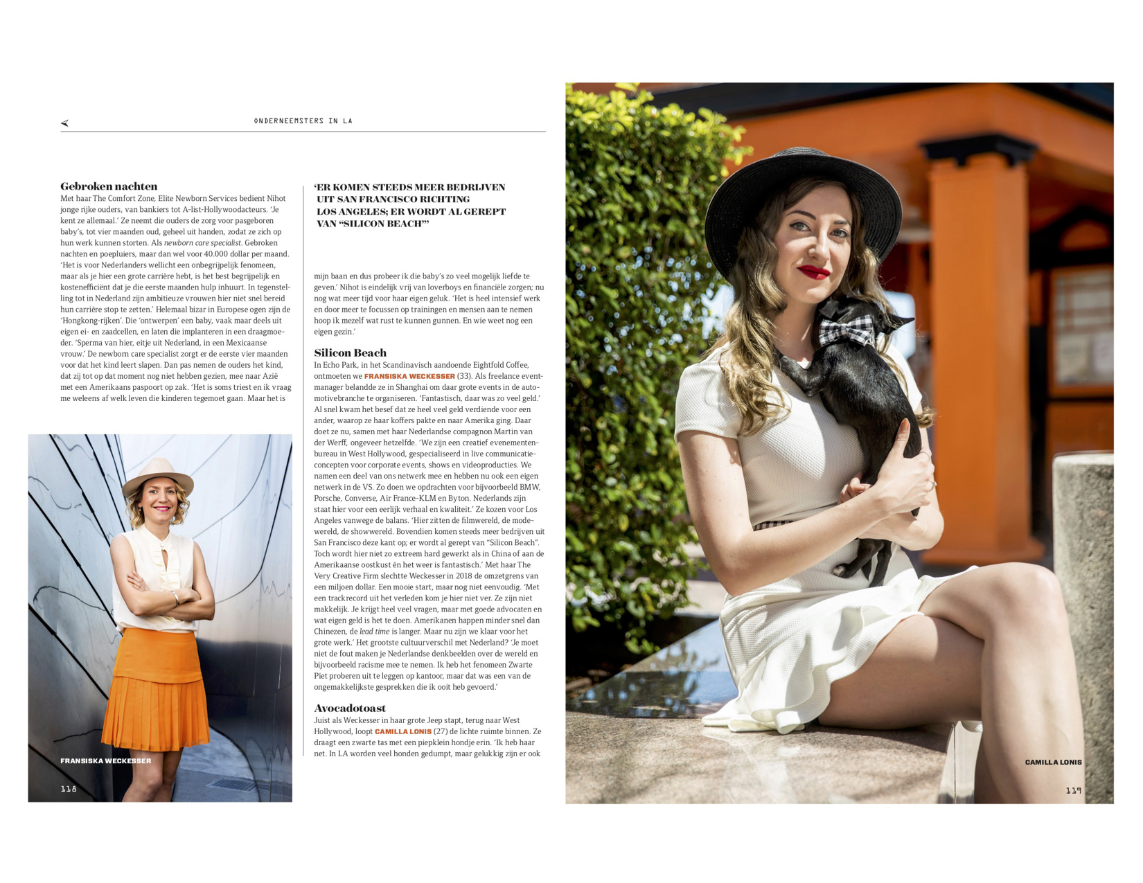 Dutch entrepeneurs for QUOTE magazine.