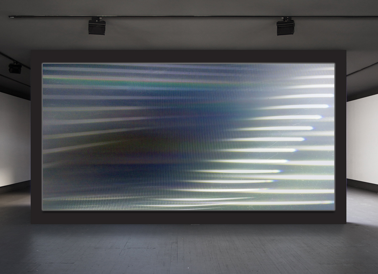 Reduced Landscapes,  Dynamic Light Art Boxes  Commissioned by:  Hotel 7 Islas Madrid, Clorofila Gallery, Kikekeller Gallery, and private art collectors  Materials:  plexiglass boxes, optical filters, reflectors, algorithmically programmable lighting systems  Dimensions:  50 x 80 x 5 in - 110 x 250 x 5 in