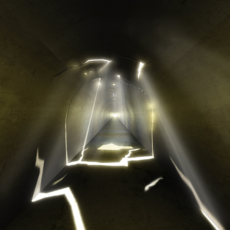 outSIDEin   Interactive Light Art Installation  New York City Subway, NY, USA, June 2006