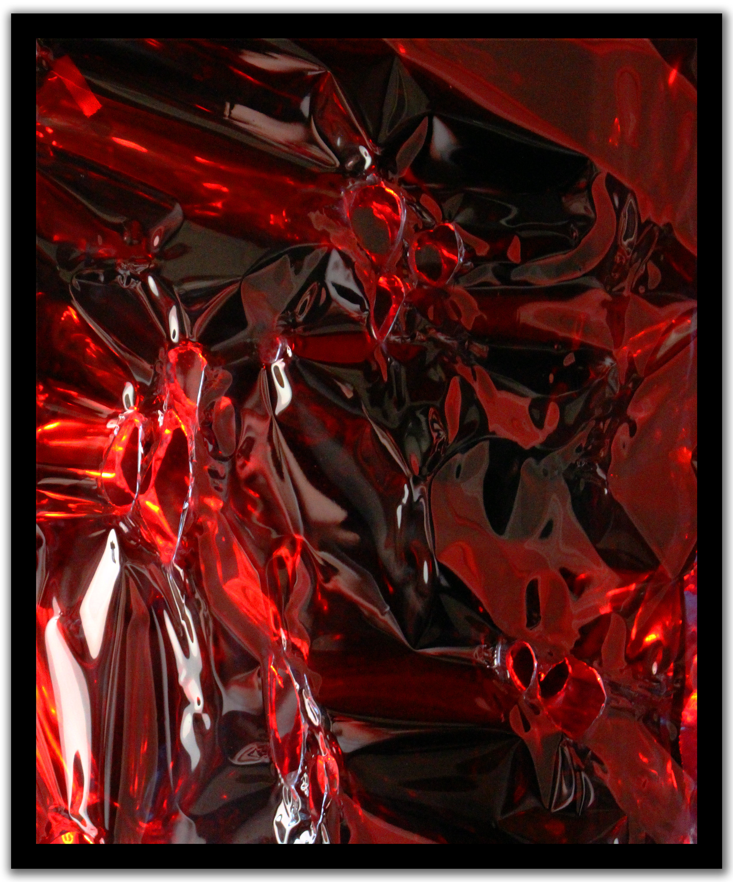 Falling Down The Universe,  Dynamic Light Art Boxes  Materials:  programmable LED lighting, reflective materials, frame  Dimensions:  48 x 24 x 3 in