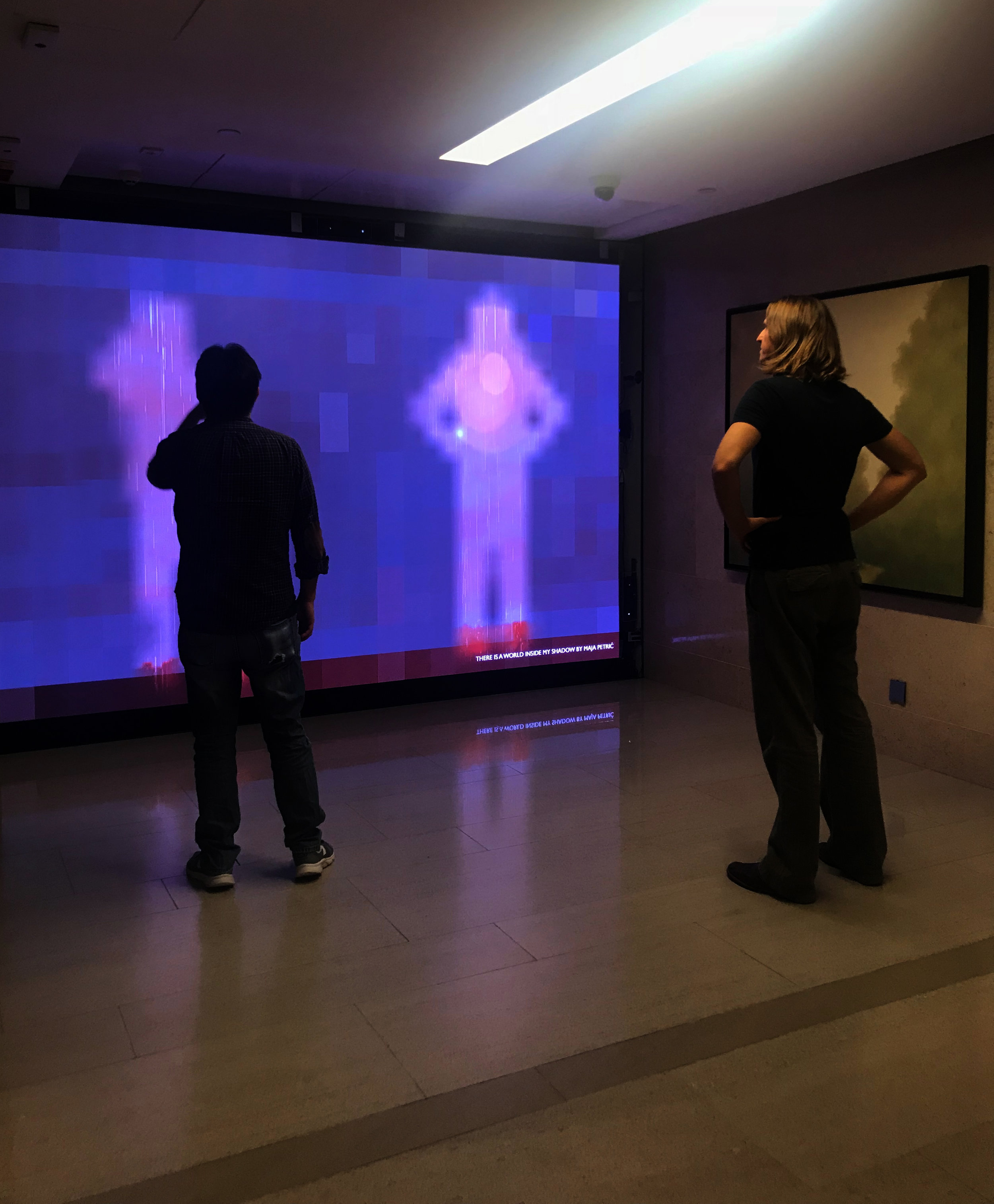 There is Another World Inside My Shadow  Interactive Video Art Installation  Hong Kong Landmark, Hong Kong, China, February 2018 - February 2020