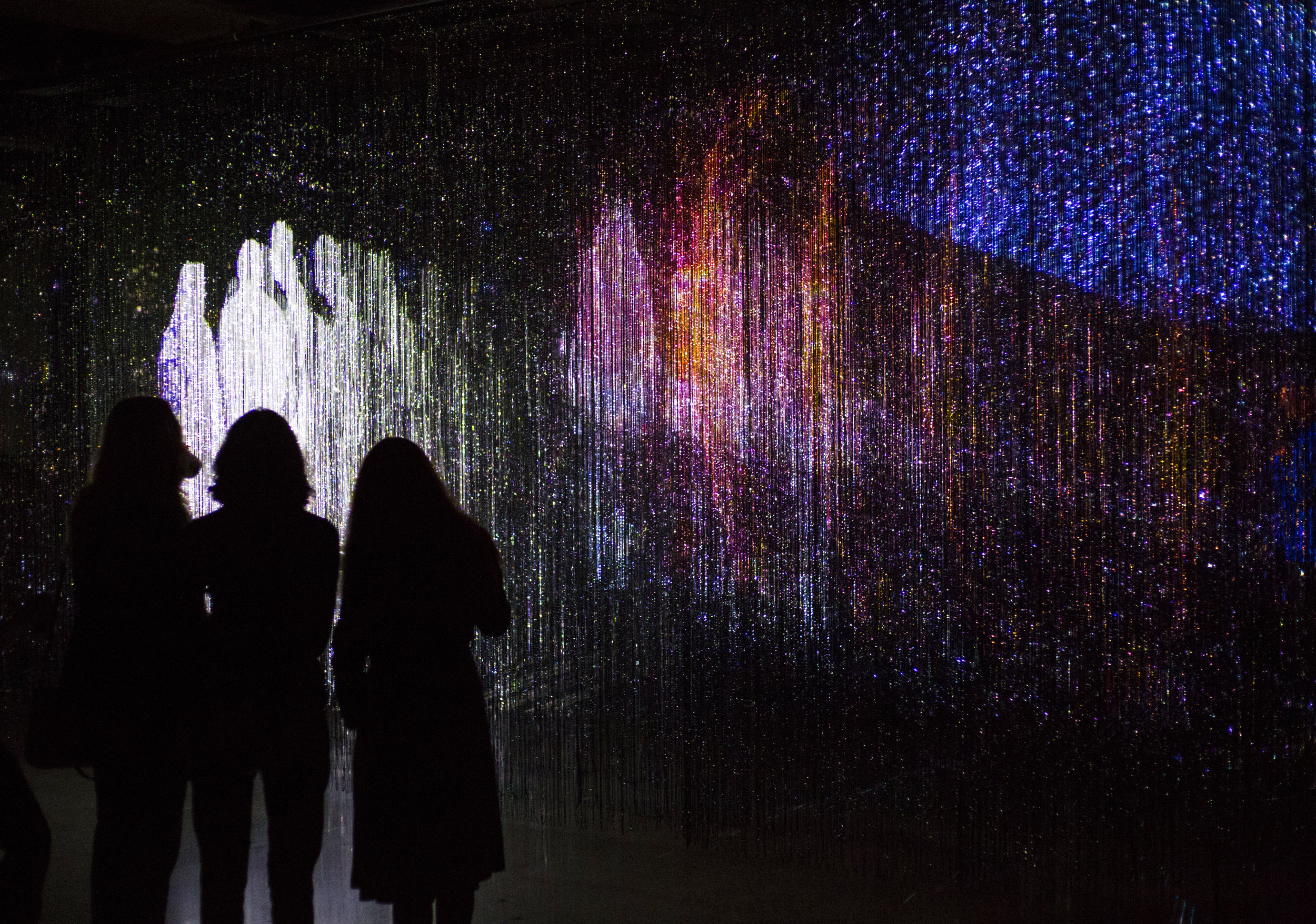 We Are All Made Of Light  Interactive Light and Sound Art Installation  MadArt Studio, Seattle, WA, USA , September - December 2018