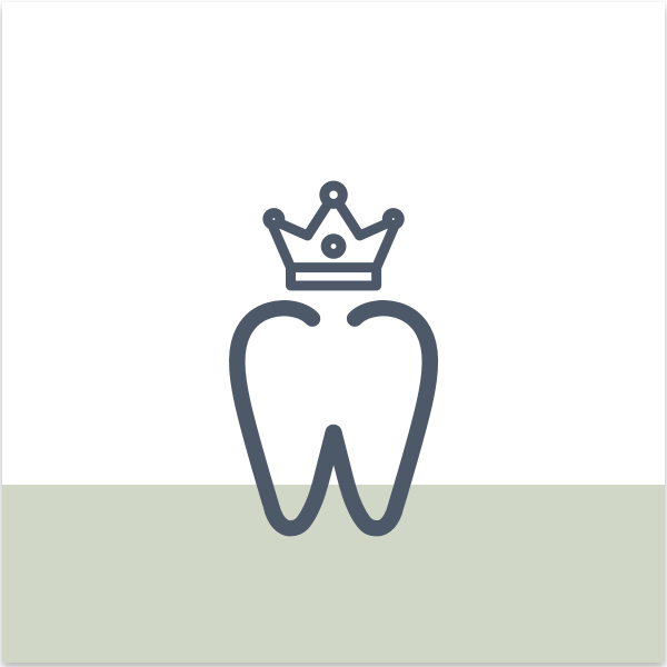 range of ceramic, porcelain, alloy materials chosen to best protect the tooth and prevent further complications due to longevity, durability and superiority of the material.