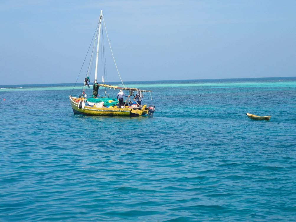 Belize Fishing boat