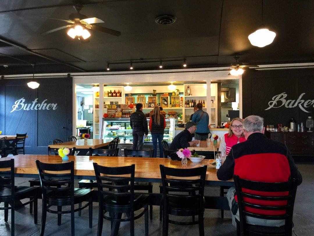 Cute cafe in Port Gamble