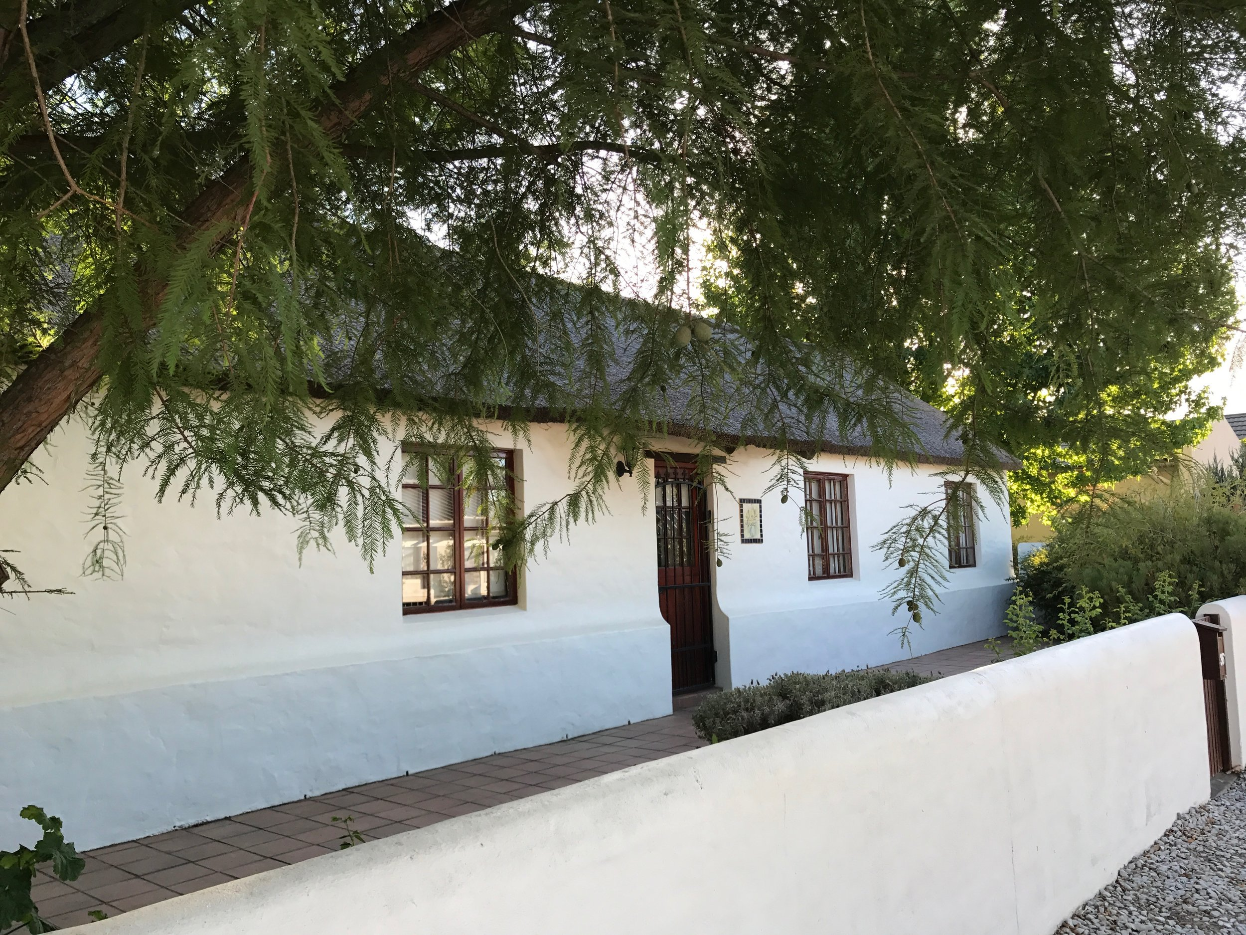 A classic house on one of the tree-lined streets of Villiersdorp