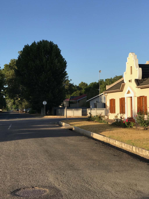 Villiersdorp street
