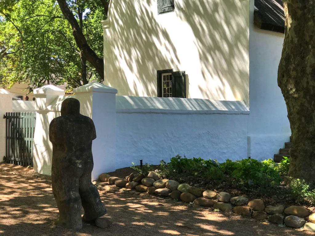 Restored Cape Dutch buildings