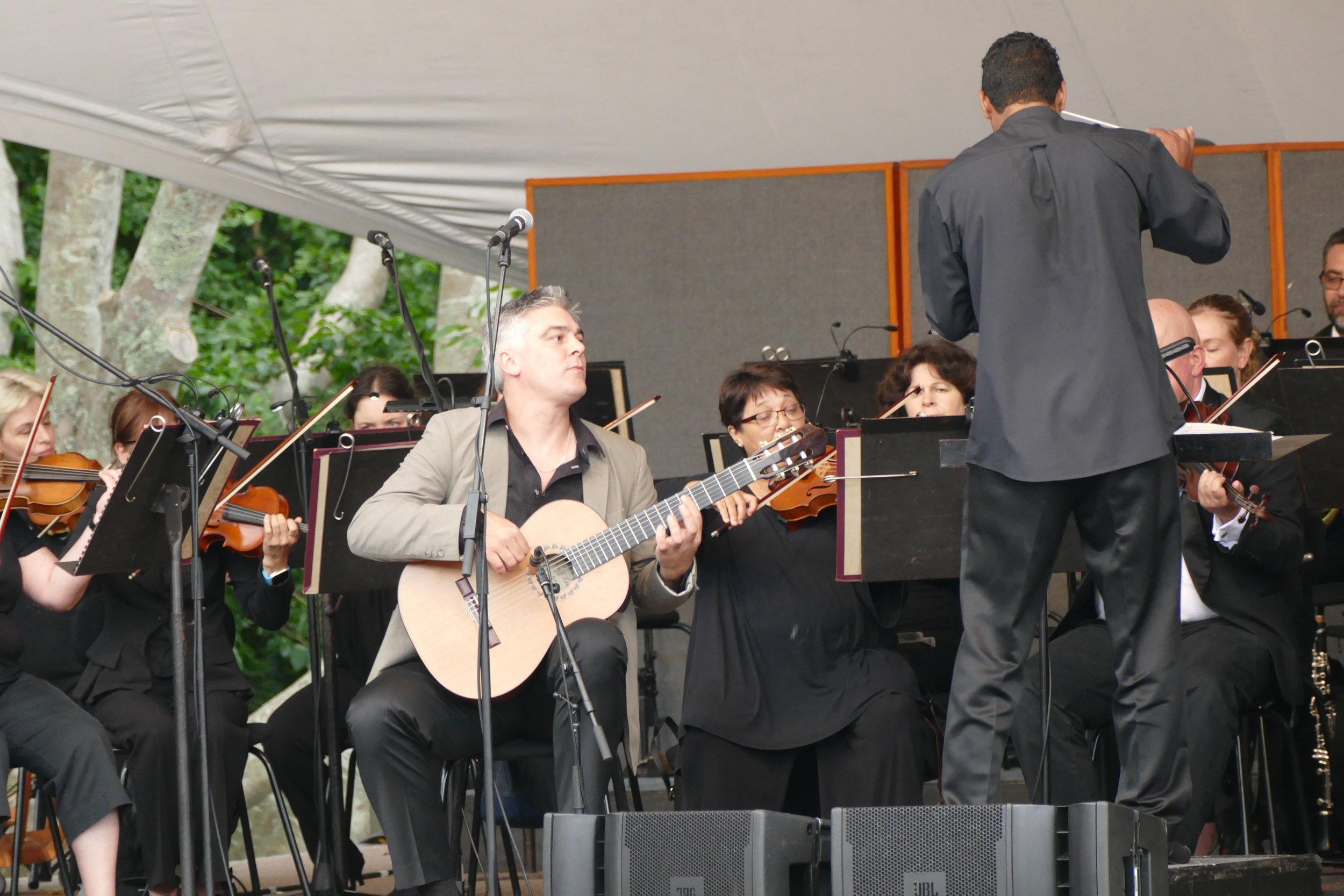 James Grace Concert at Kirstenbosch