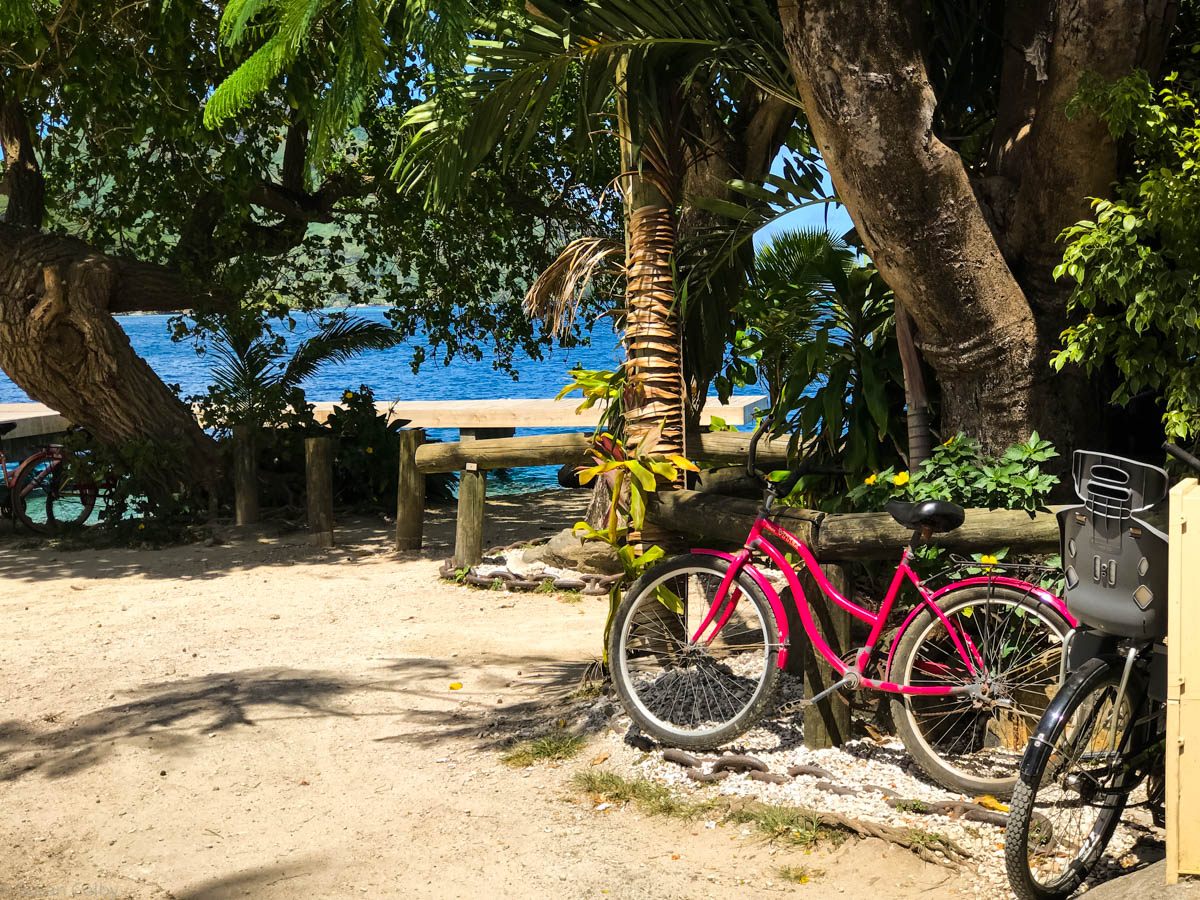 Huahine waterfront