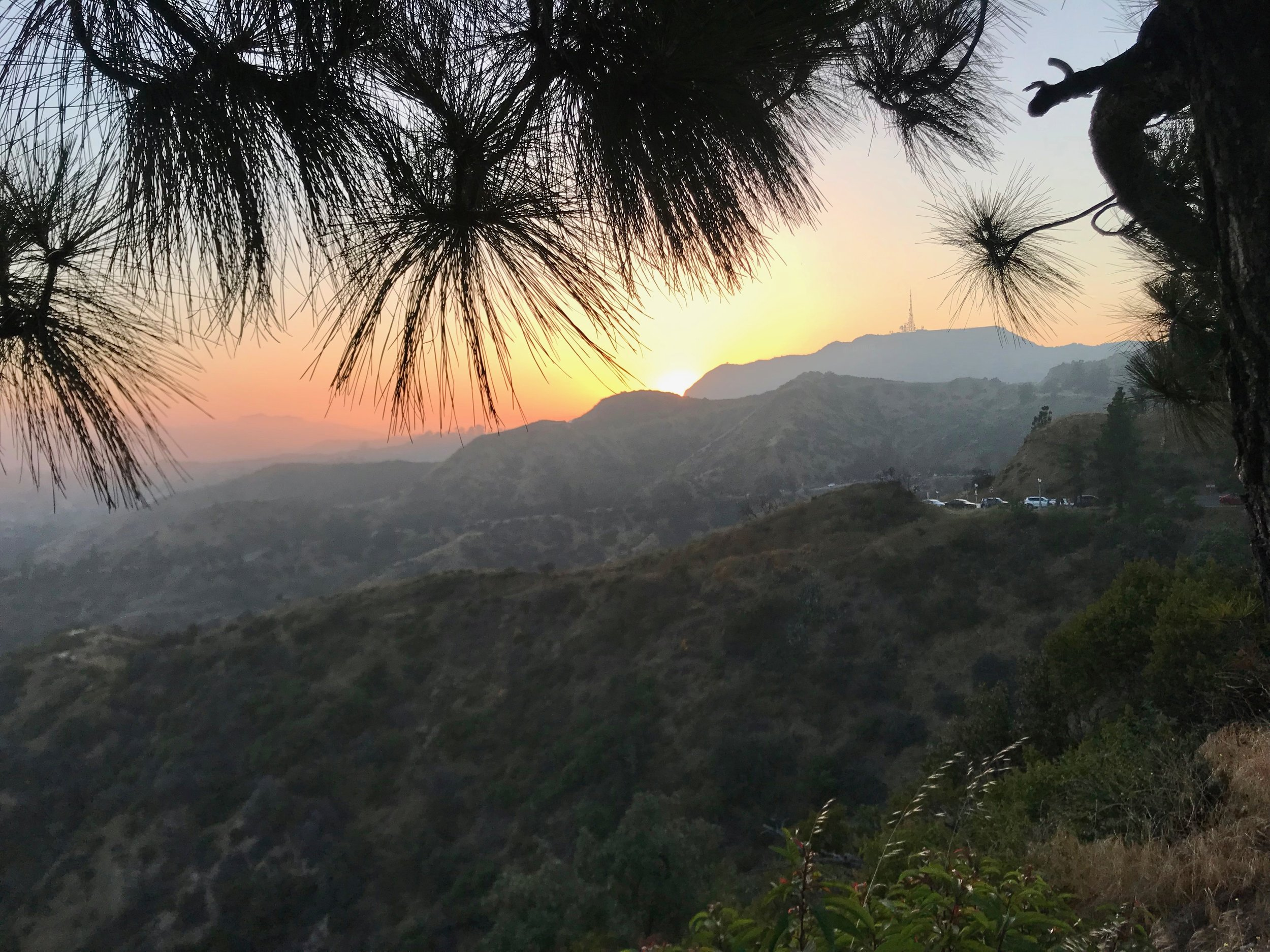 Sunset from Griffith Observatory