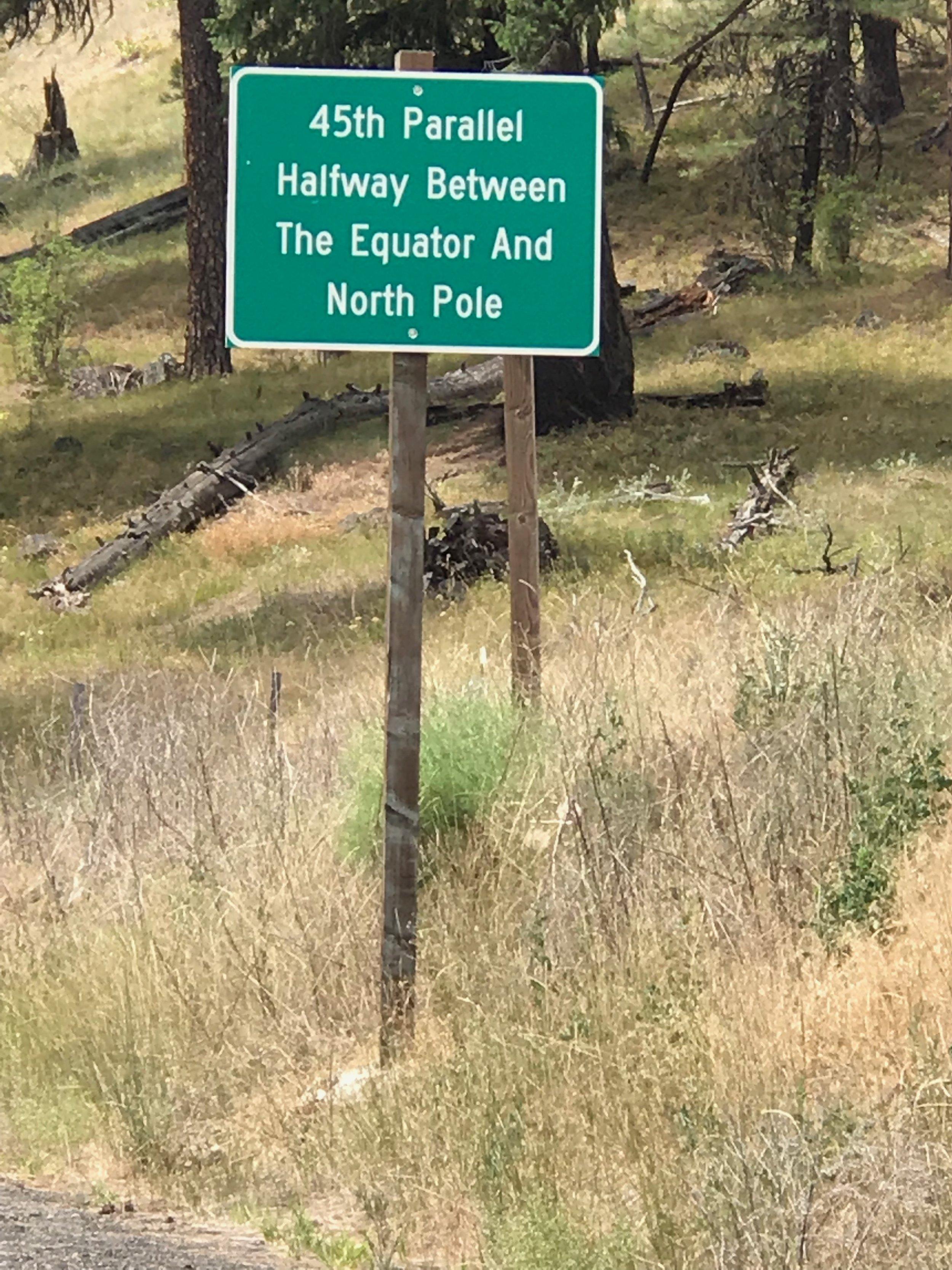 49th Parallel, Ukiah, Oregon