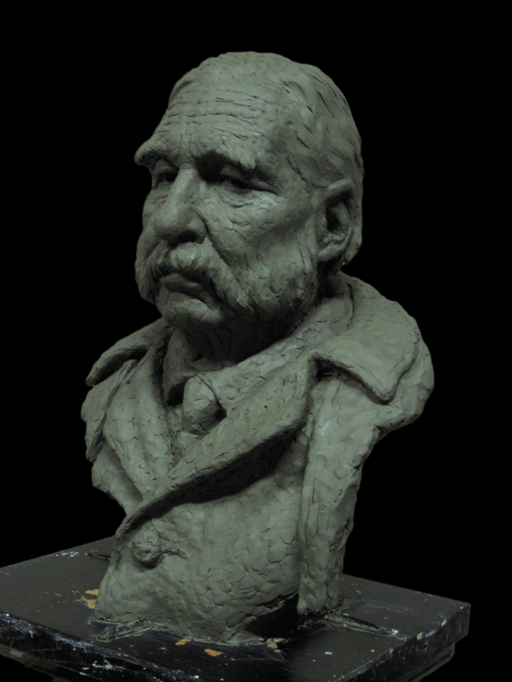 """They call him Victor"" in clay"