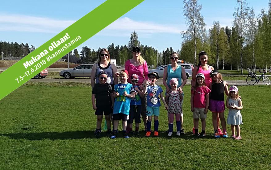 Tänään Jalaksen pallokerhossa oli Äidit pyydetty mukaan pelaamaan - Loistavaa #kannustamua!