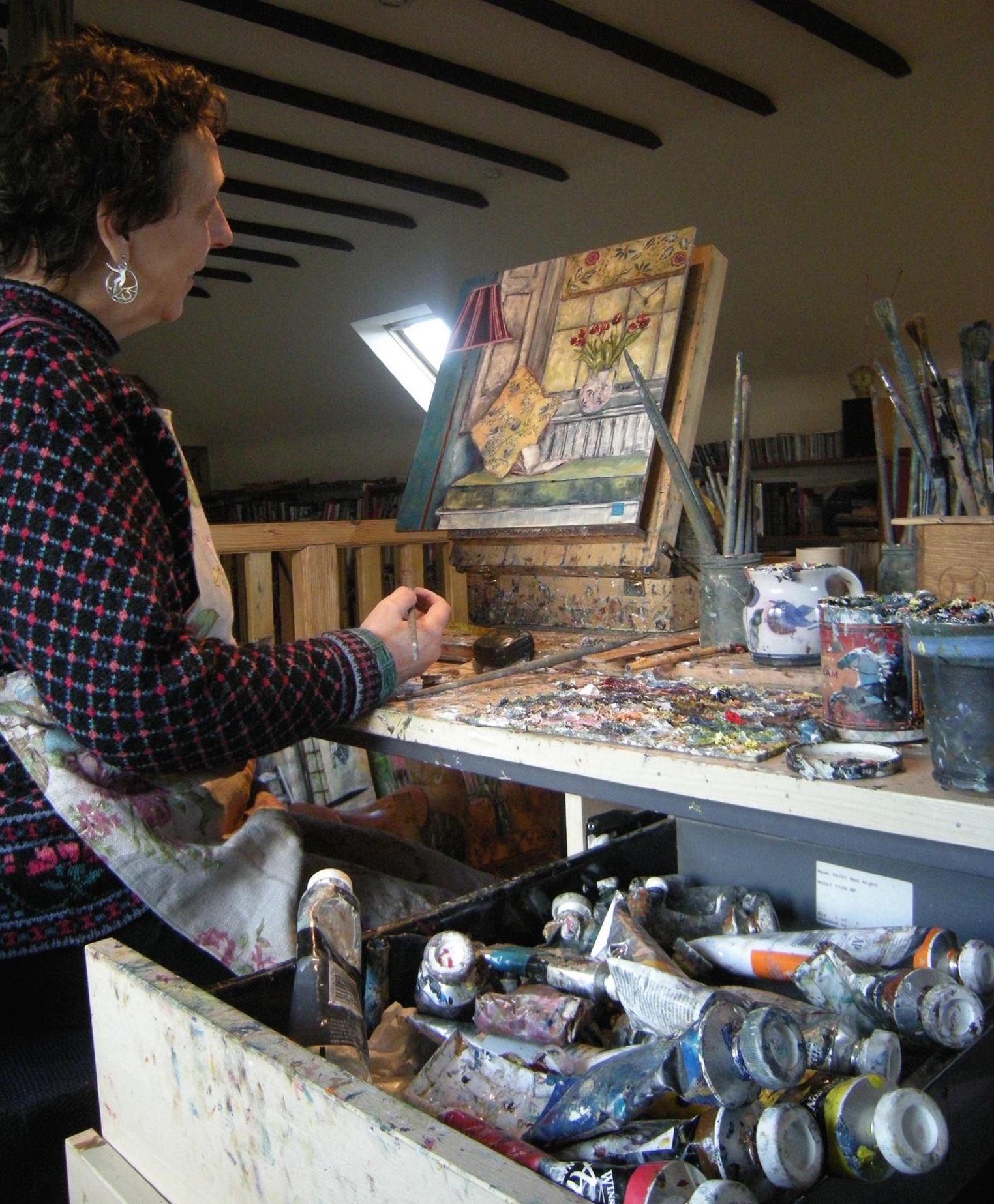 Linda Kinsman Blake Painting