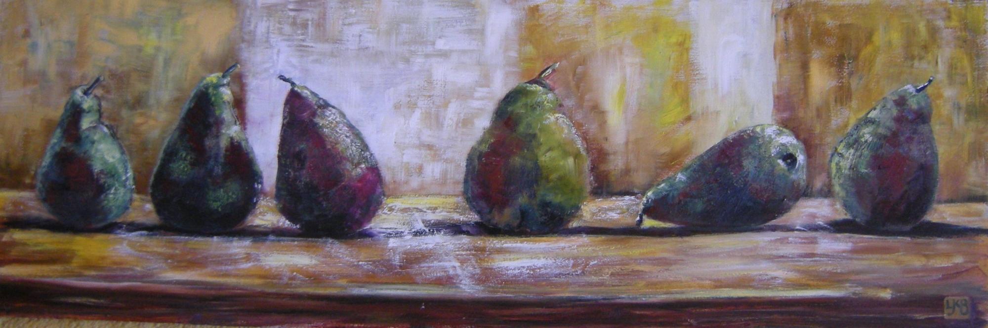 Linda Kinsman Blake, Oil, Pears