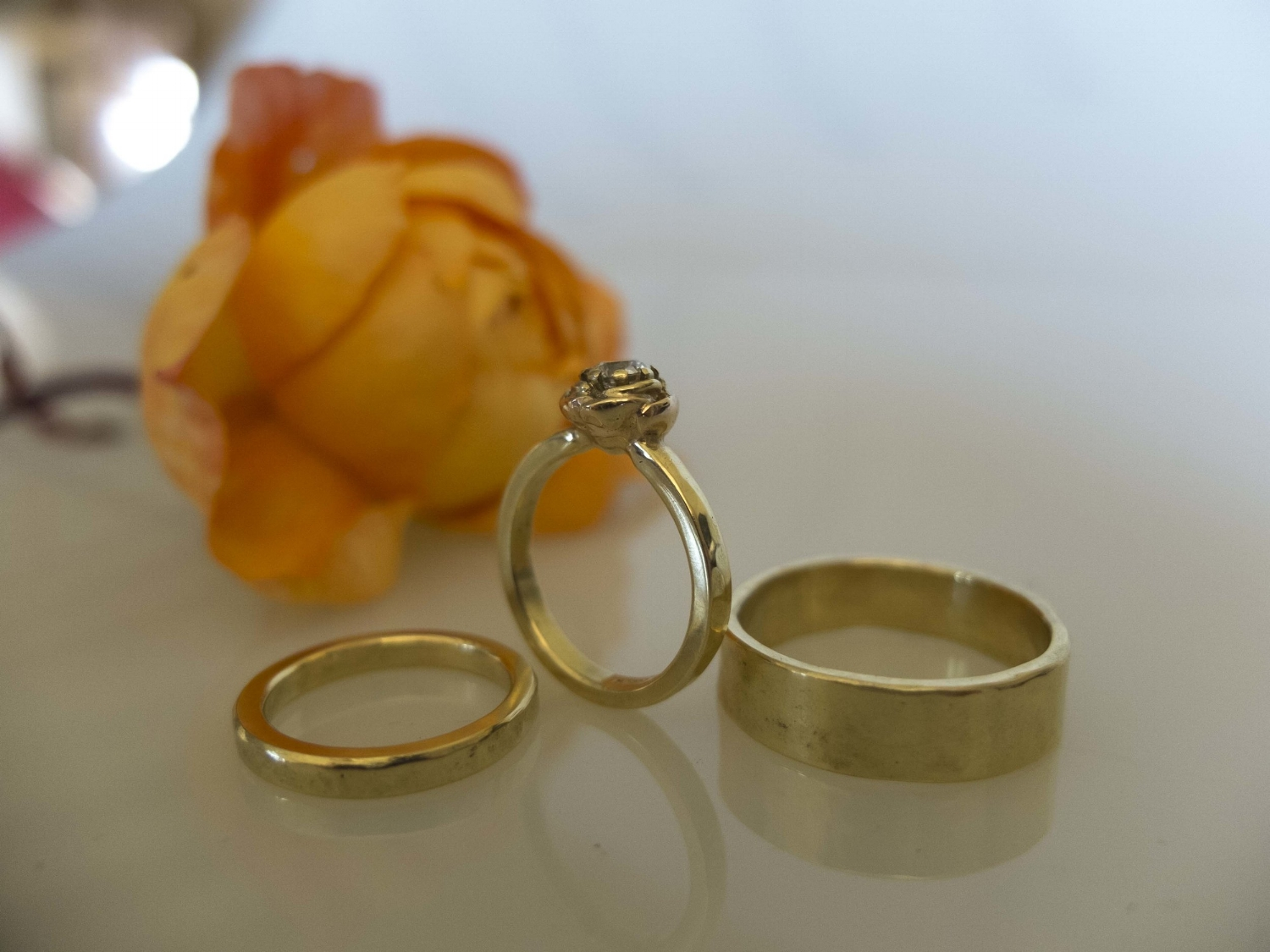 Rose Dimong and Gold Engagement Ring.jpg