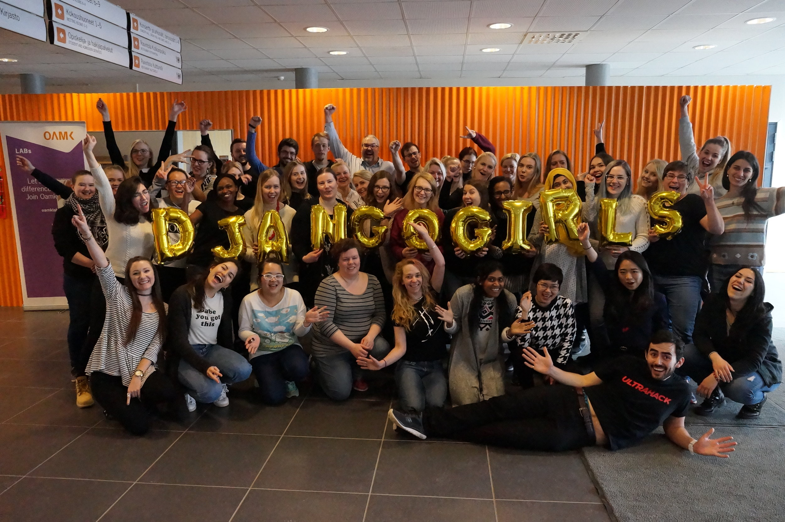 One of our most popular events is Django Girls, a two-day programming event for women.