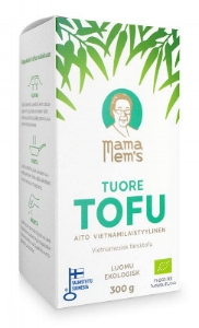 Mama Mems Organic Fresh Tofu Package