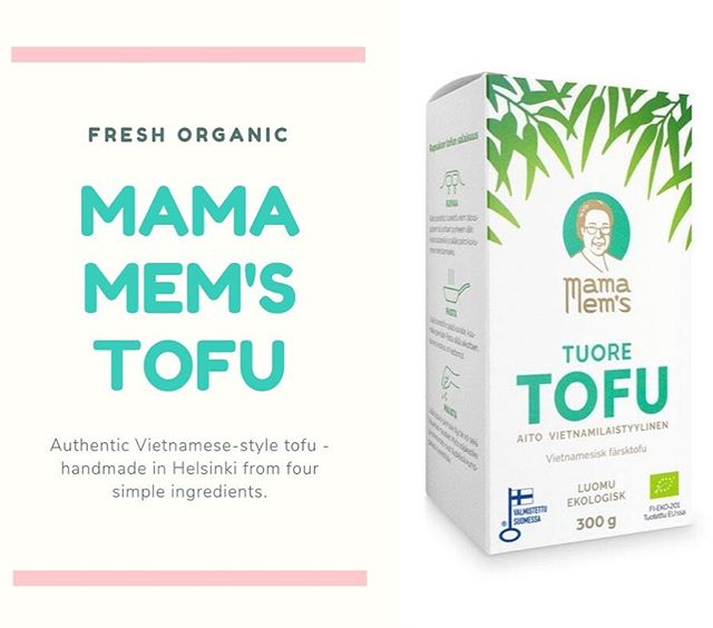 We produce Mama Mem's Tofu in Helsinki from four simple ingredients – organic soybeans, water, organic vinegar and salt. Our tofu does not contain any additives as it is meant to be consumed fresh, the Vietnamese way. 🌱👌☀️ #mamamems #tofu #fresh #organic #vege #vegan #vegefood #veganfood #madeinhelsinki #vietnamese #vietnamesefood #mamamemstofu