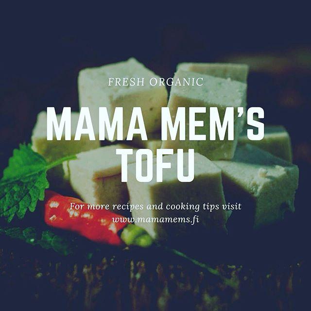 Tuoretofu on herkullinen tapa toteuttaa kevyttä ja terveellistä kasvispainotteista ruokavaliota. 🌱🥗✌️ Kotisivuiltamme löydät herkulliset reseptit ja ideat ruoanlaittoon. 🌱🍜👍 #tofu #luomu #fresh #organic #mamamems #vege #vegan #vietnamese #vietnamesefood #vegesafkaa #kasvisruokaa #madeinhelsinki #valmistettusuomessa #veganfood #ecofriendly #nutrition #mamamemstofu
