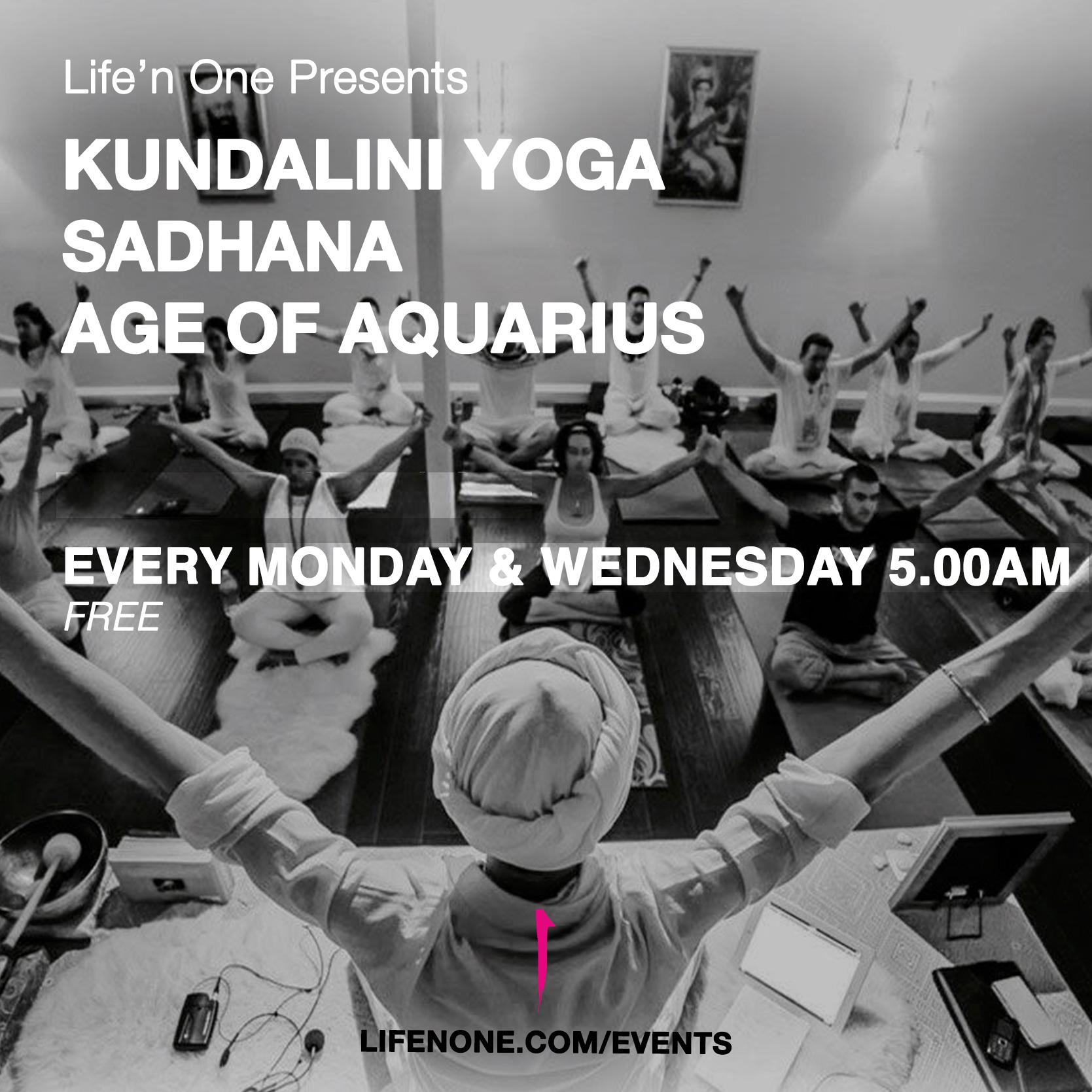 Kundalini yoga sadhana in Dubai at Life'n One