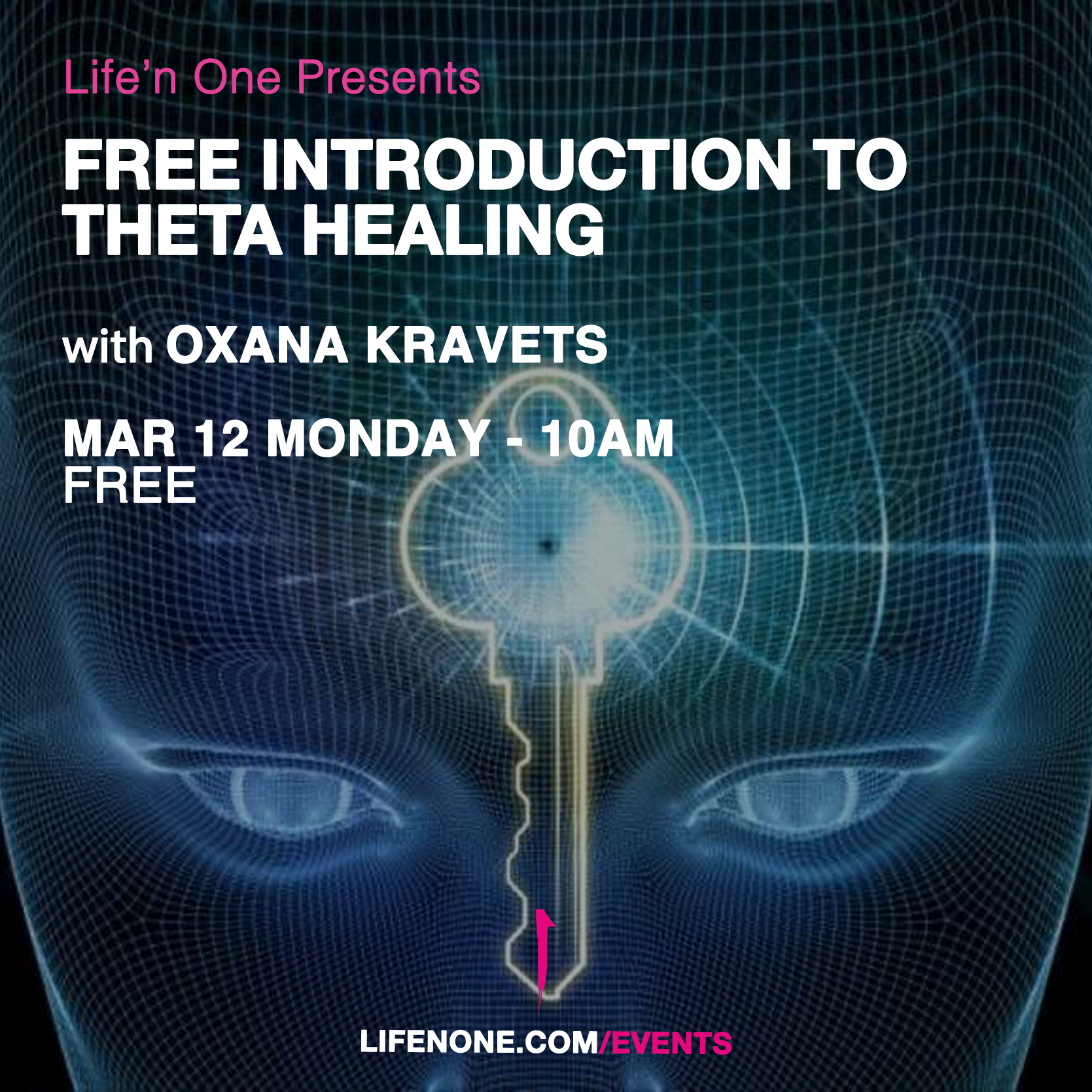 Free Introduction to Theta Healing with Oxana Kravets