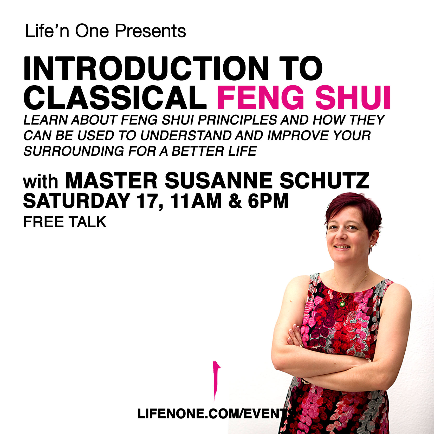 Introduction to Classical Feng Shui with Master Susanne Schutz