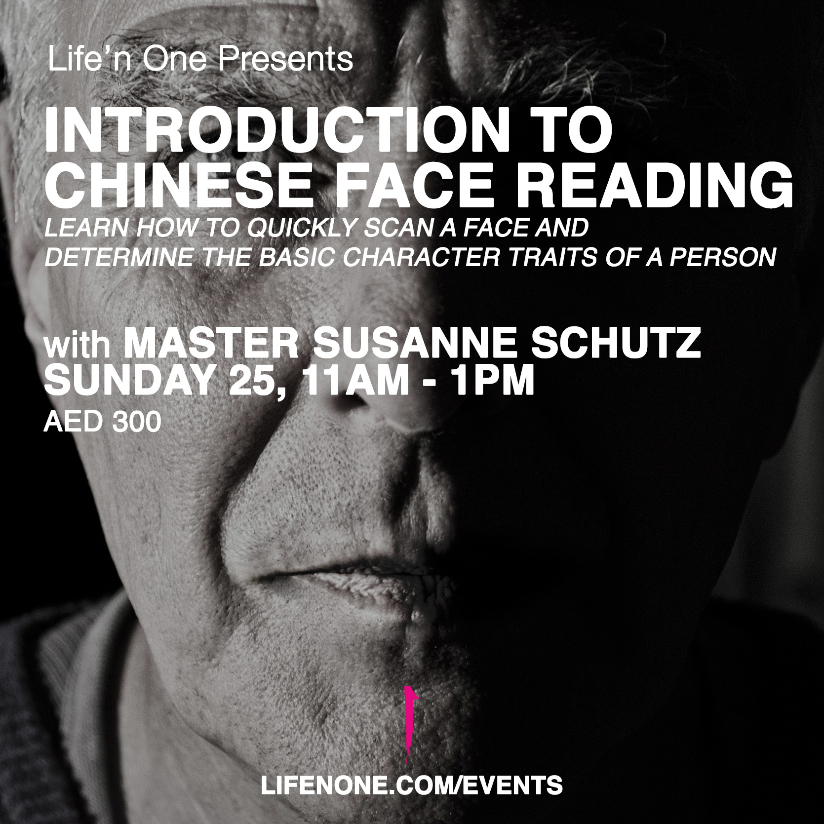Introduction to Chinese Face Reading with Master Susanne Schutz in Dubai
