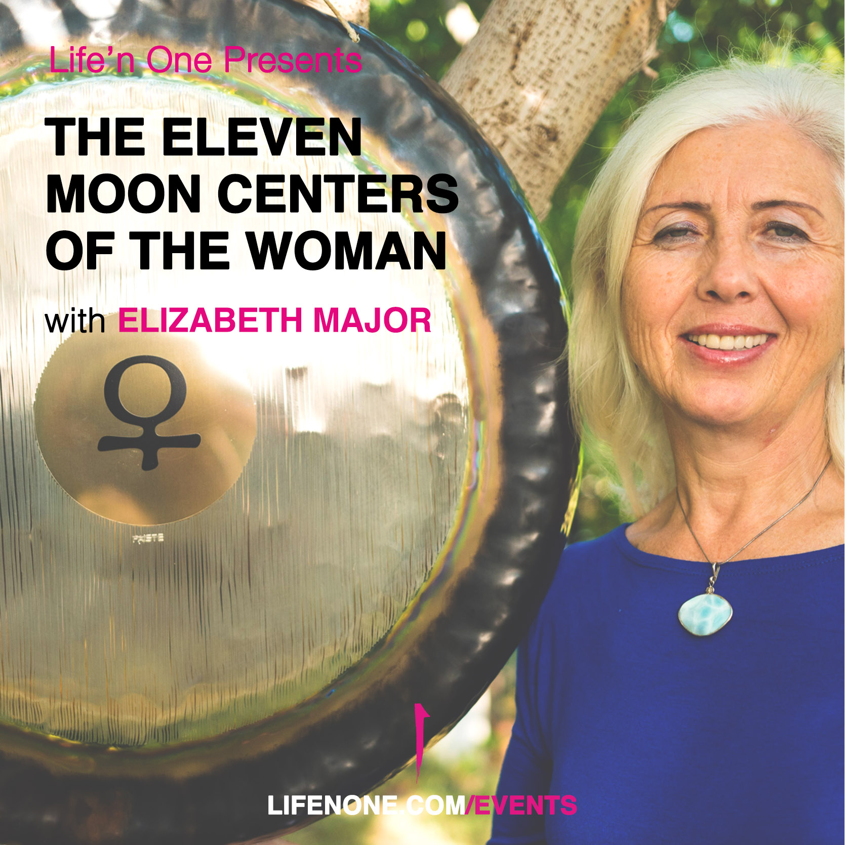 The eleven Moon centers of the woman