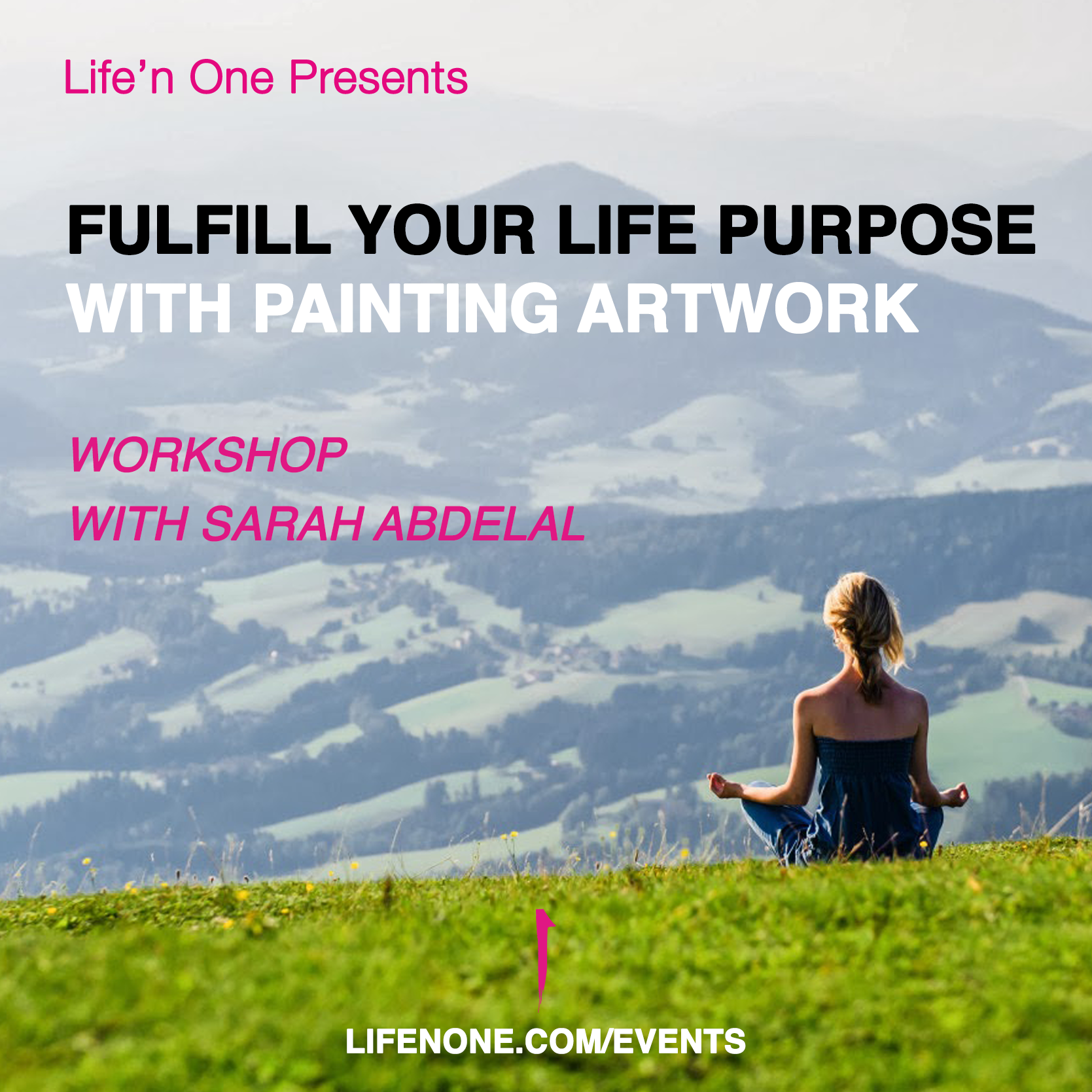 Fulfill your Life Purpose with painting artwork