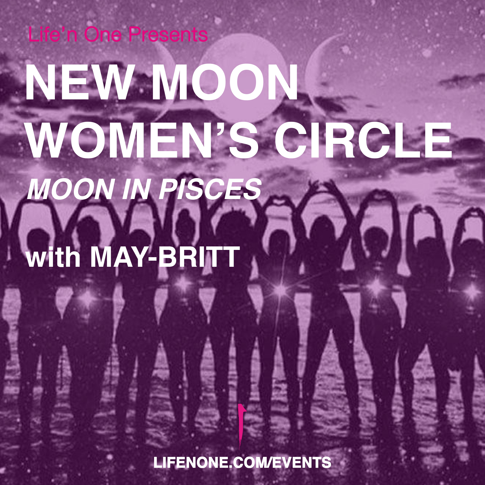 New Moon Women's Circle - Moon in Pisces
