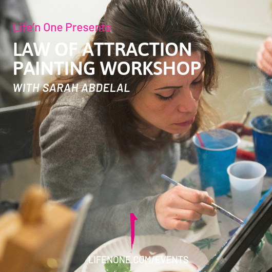 Law of Attraction Painting Workshop